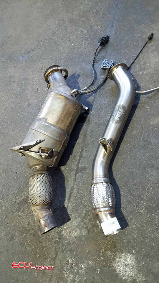 BMW E87 120d Downpipe