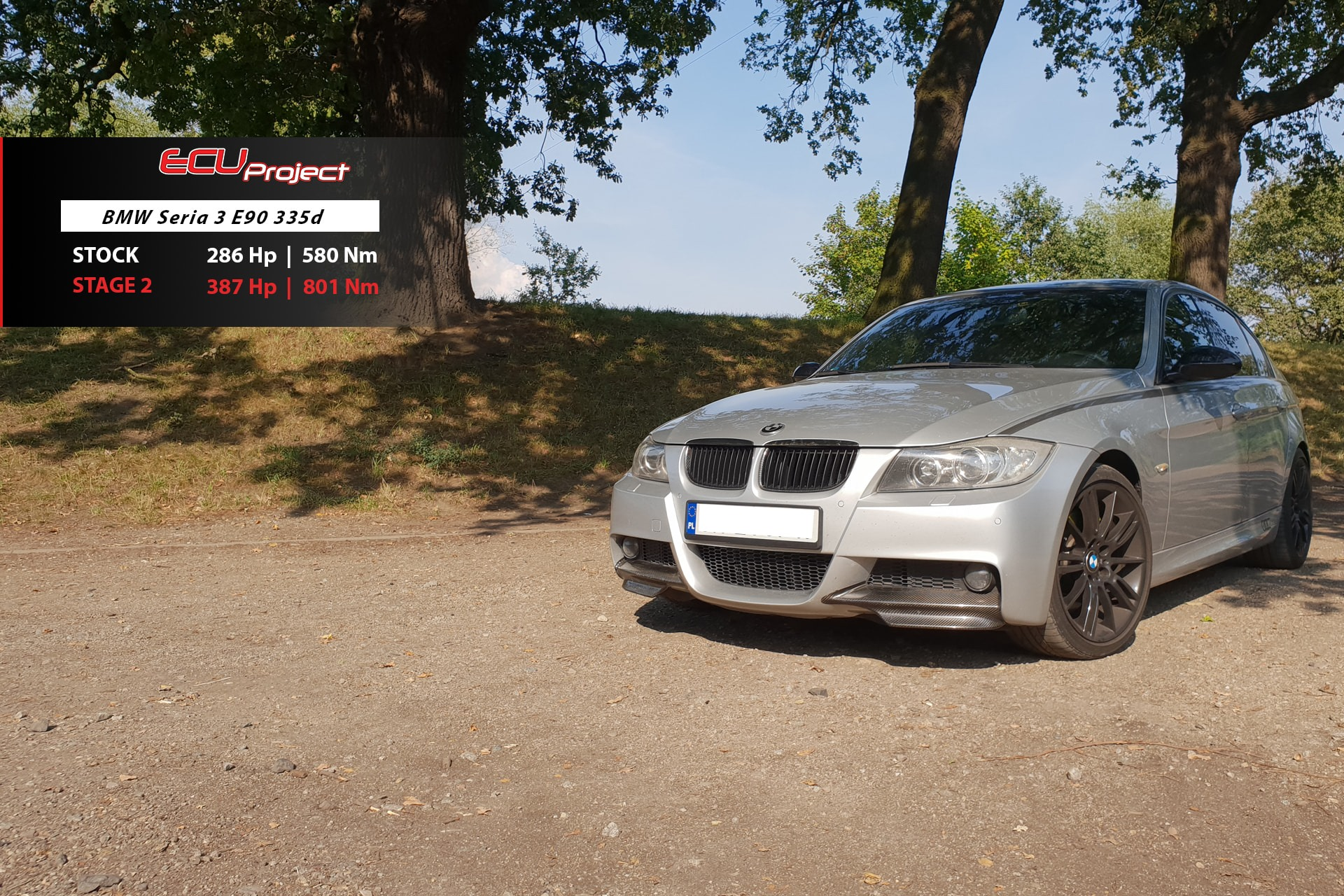 BMW E90 335d Stage 2
