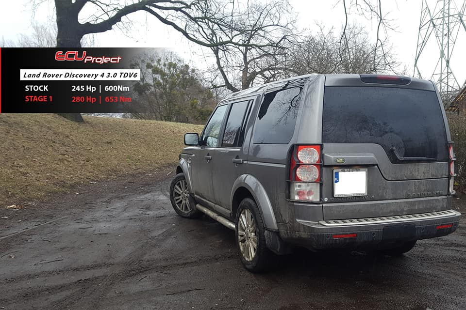 Land Rover Discovery 4 3.0 TDV6 tył
