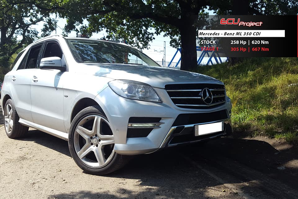 Mercedes Benz ML350 CDI W166