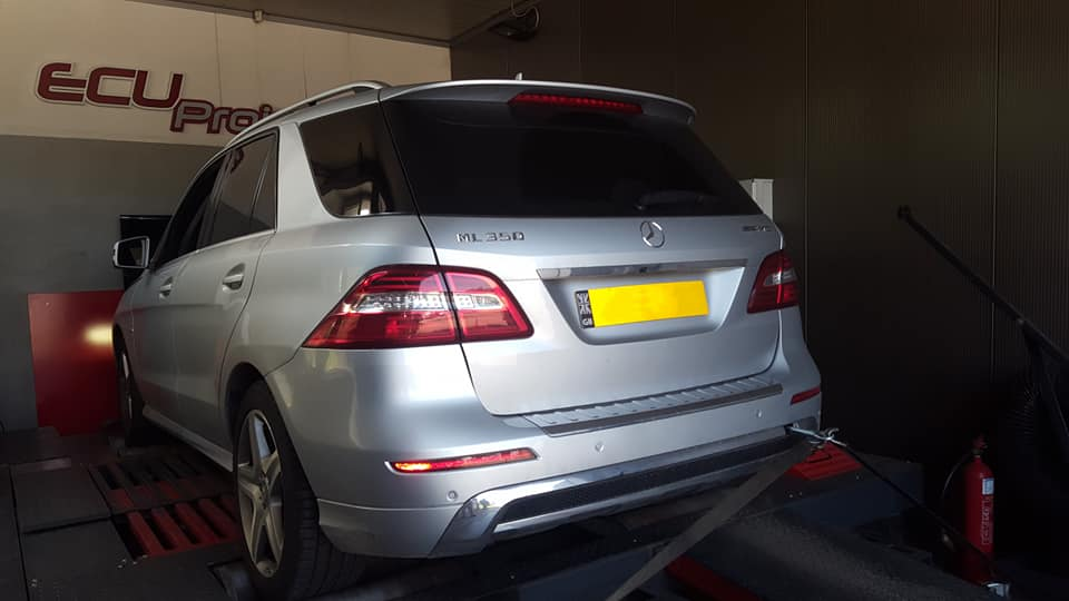 Mercedes Benz ML350 CDI W166 hamownia