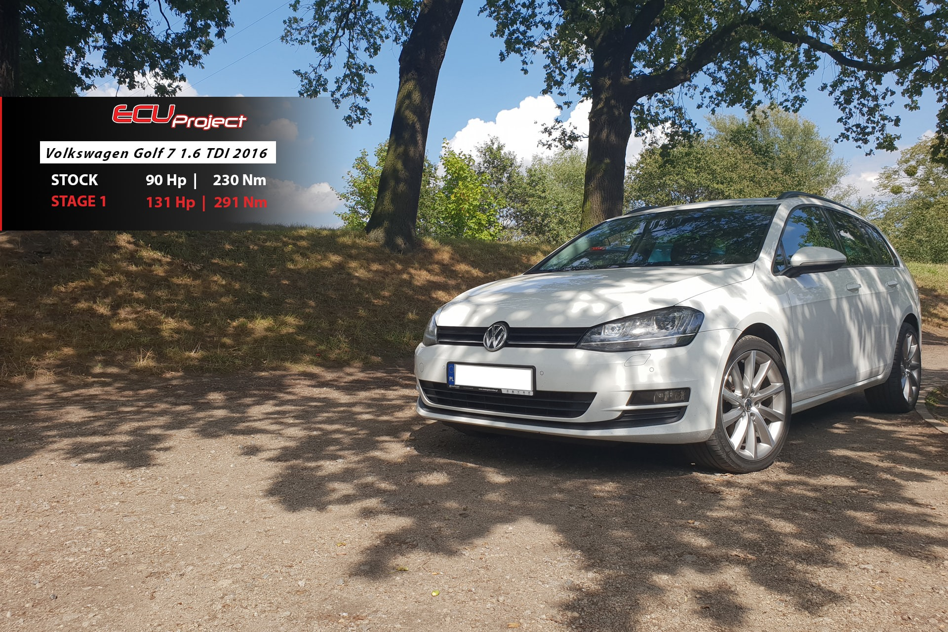 Golf 7 1.6TDI 90Ps
