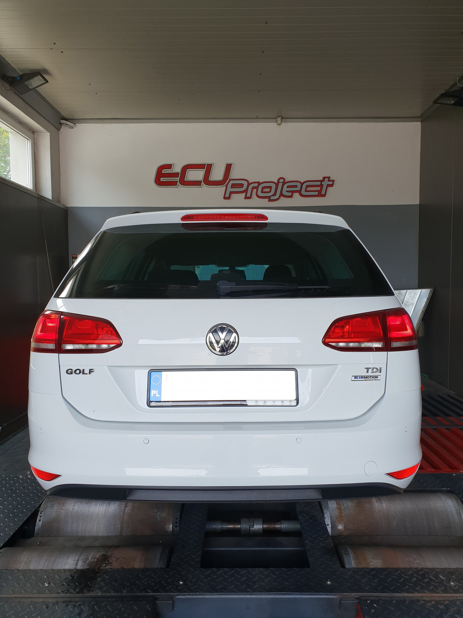 Golf 7 1.6TDI 90Ps hamownia